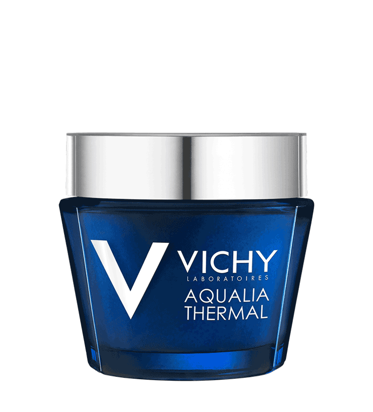 aqualia thermal night spa anti fatigue spa mask vichy. Black Bedroom Furniture Sets. Home Design Ideas