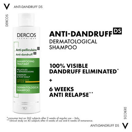 DERCOS ANTI-DANDRUFF SHAMPOO FOR NORMAL TO DRY HAIR