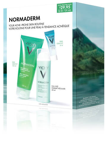 Normaderm acne treatment routine