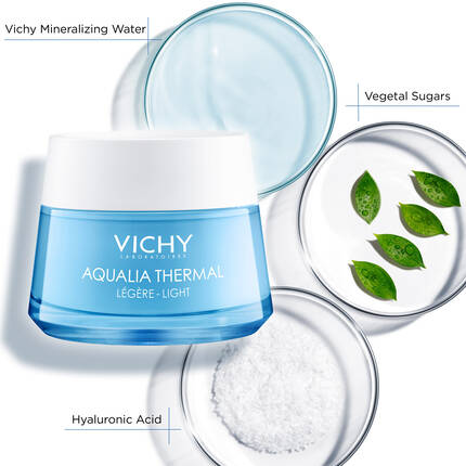 Aqualia Thermal Moisturizing Light Cream by Vichy Laboratories