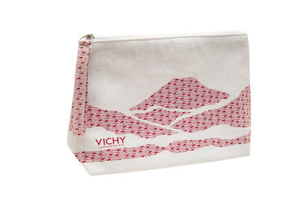 VICHY RED POUCH