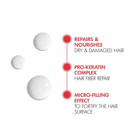 DERCOS KERA-SOLUTIONS REPAIRING LEAVE-IN SERUM
