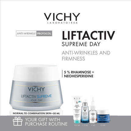 LIFTACTIV SUPREME ANTI-WRINKLE KIT for normal to combination skin