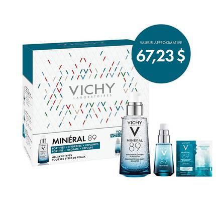 COFFRET VICHY MINÉRAL 89 75 ML
