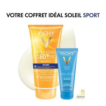 Coffret Cadeau Solaire Idéal Soleil Sport Crème Solaire FPS 60