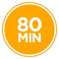 80 min